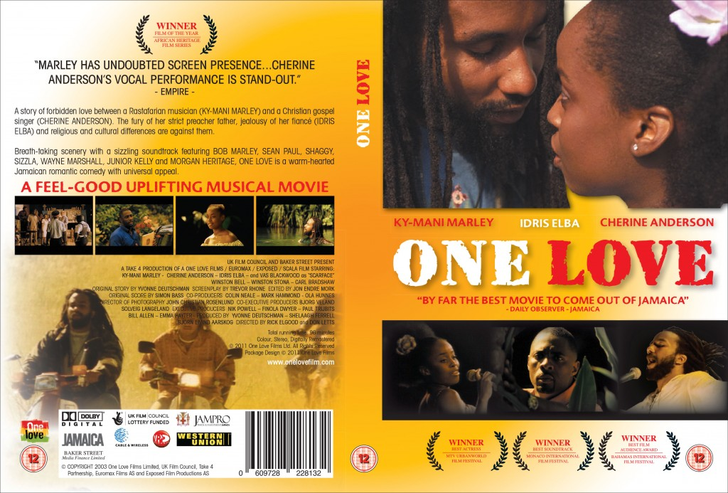 One Love DVD Cover